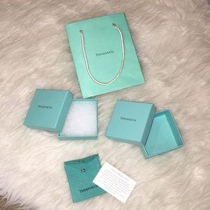 Tiffany & Co. Jewelry - {Tiffany & Co} Jewelry Boxes, Bag, & Jewelry Bag